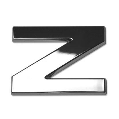 Z, 3D Chrombuchstabe