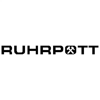 1x RUHRPOTT Aufkleber
